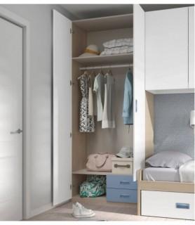 Dormitorio Juvenil Rústico Colonial 31
