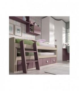Dormitorio Rústico Colonial 20