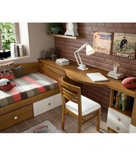 Dormitorio juvenil Moderno 90
