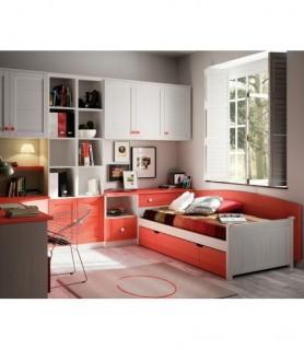Dormitorio juvenil Moderno 108