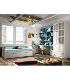 Dormitorio Juvenil Moderno 162