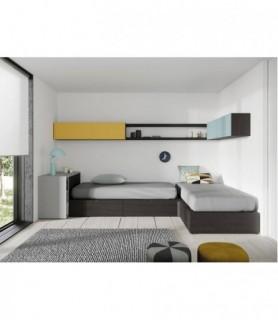 Dormitorio Juvenil Moderno 166