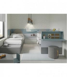 Dormitorio Juvenil Moderno 175
