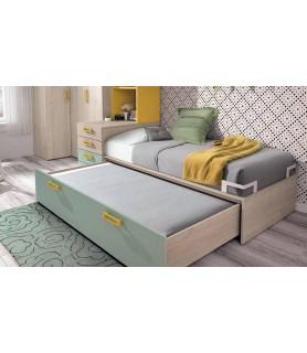 Dormitorio Juvenil 193 con cama nido en Madrid