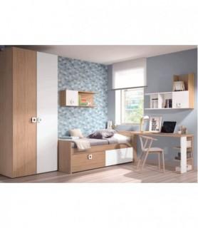 Dormitorio Juvenil Nórdico 194 en Madrid