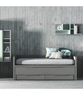 Dormitorio Juvenil Rústico Colonial 1