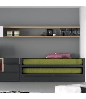 Habitación juvenil Rústica en Móstoles y Madrid Modelo 23