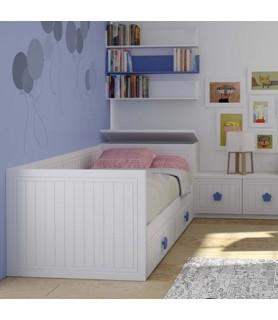 Dormitorio Juvenil Rústico Colonial en Móstoles Madrid
