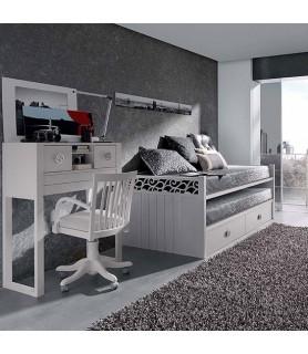 Dormitorio Juvenil Rústico Colonial 33