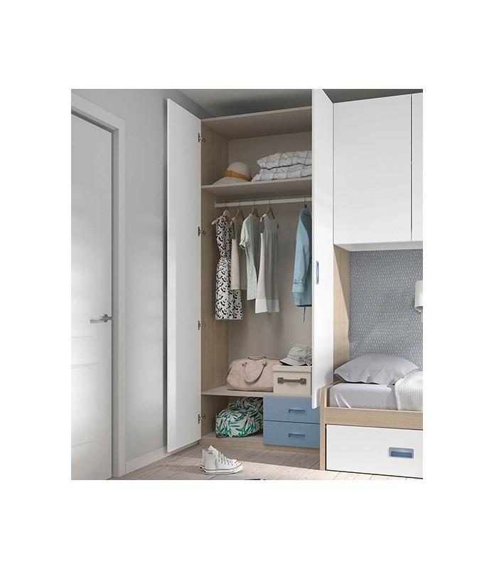 Dormitorio de matrimonio moderno en Madrid Modelo 2