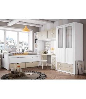 Dormitorio de matrimonio moderno en Madrid Modelo 4