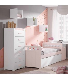 Dormitorio Moderno color blanco Modelo 6